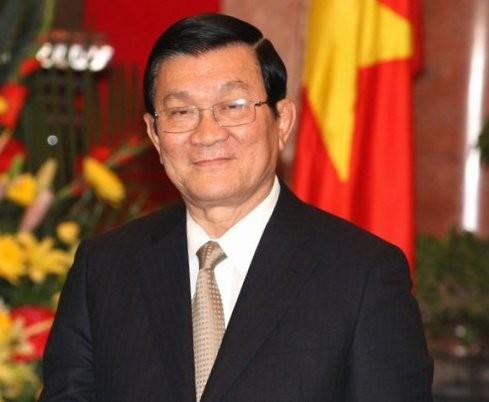 President Truong Tan Sang receives Ambassadors of Peru, Russia, Algeria, Brazil - ảnh 1